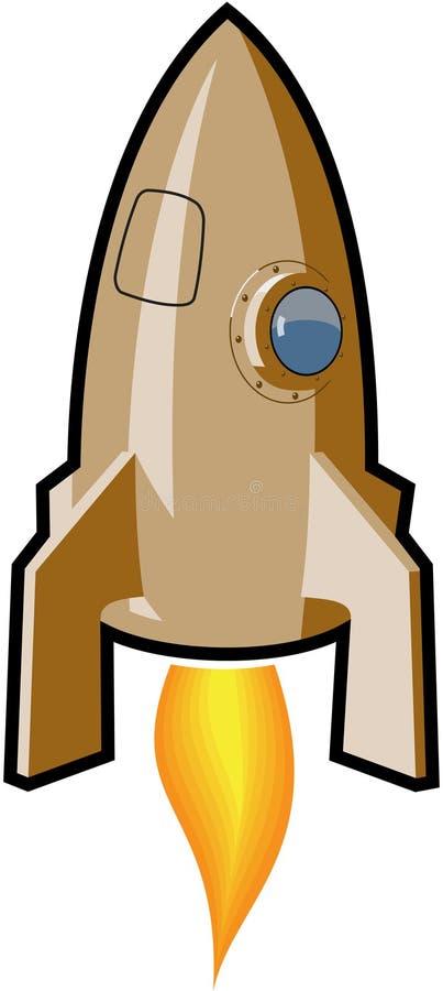 Download Rocket Ship stock vector. Image of hatch, porthole, cartoon - 9148762