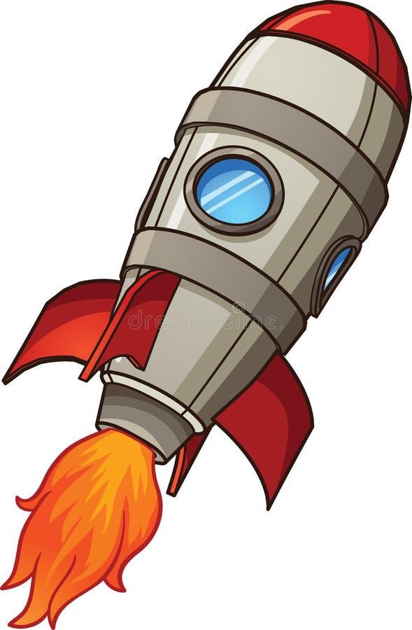 Rocket ship stock illustration