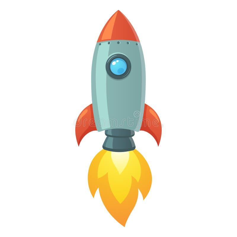Rocket Space Ship ilustración del vector