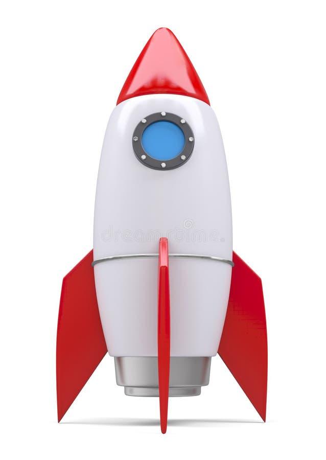 Rocket space ship stock illustration