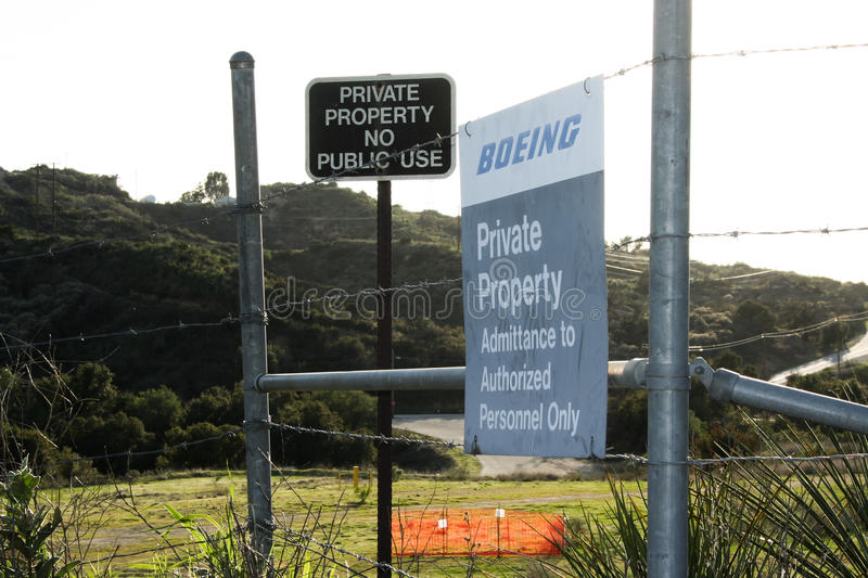 Download Rocketdyne Site Boeing Sign Editorial Photography - Image: 37001417
