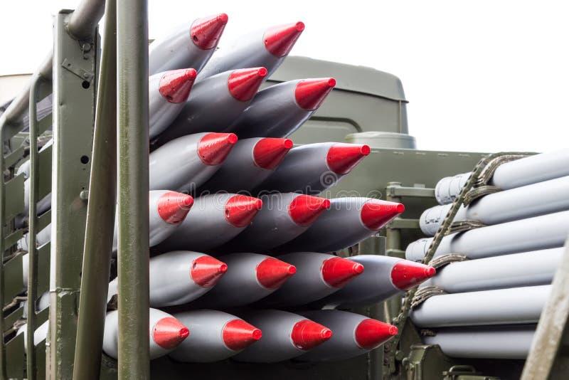 Rockets, armas de destrucción masiva, armas nucleares, armas químicas fotos de archivo libres de regalías