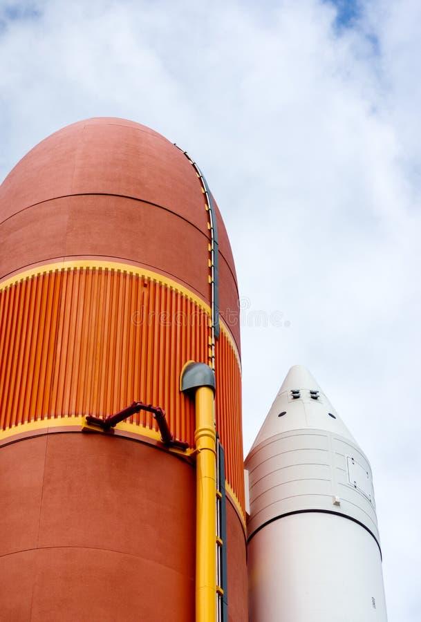 Rockets en Kennedy Space Center fotografía de archivo libre de regalías