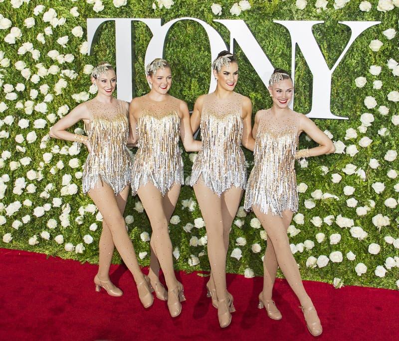 Rockettes fotografia de stock royalty free