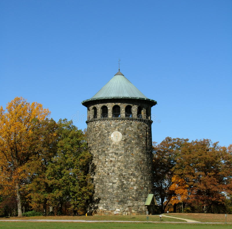 Rockford Tower. A defunct water tower in Wilmington DE stock image