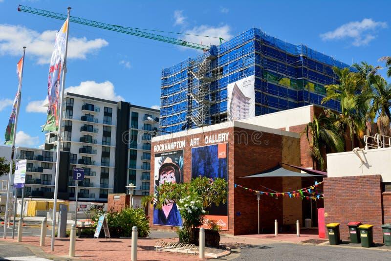 Rockhampton Art Gallery en Queensland, Australia imagen de archivo libre de regalías