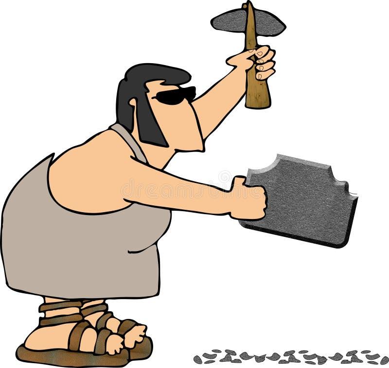 Rockhound illustration de vecteur