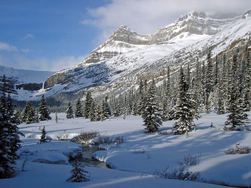 rockies χειμώνας στοκ φωτογραφία