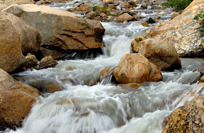 Rockies Stream stock photo