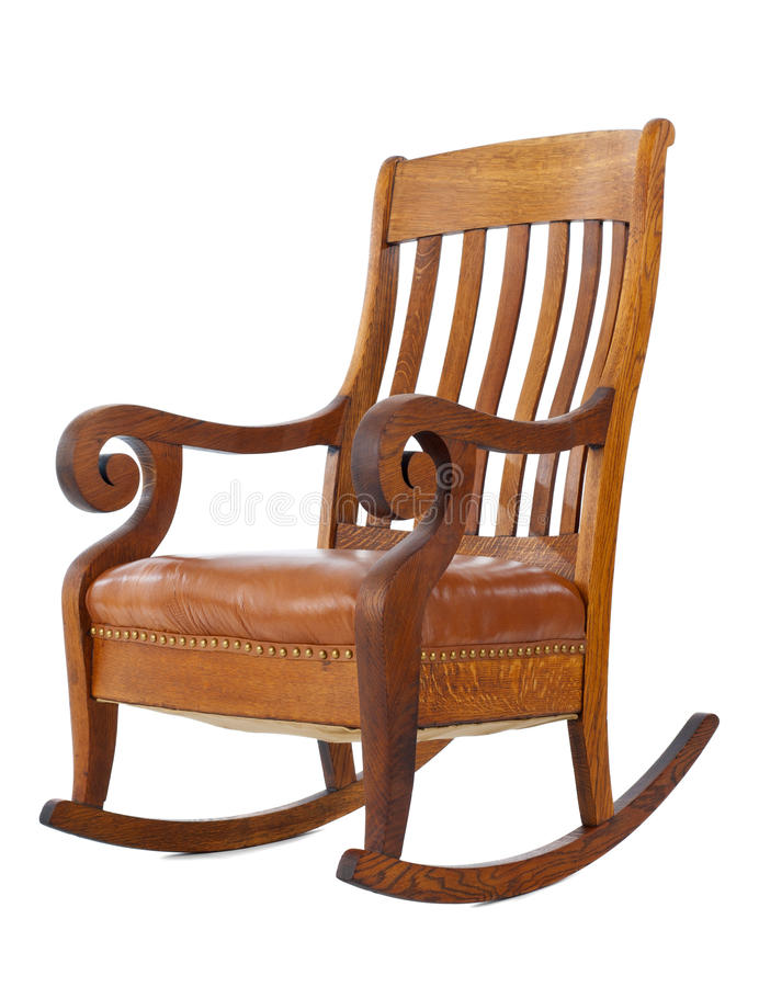 Rocking chair royalty free stock images