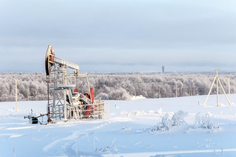 Rocking oil royalty free stock image