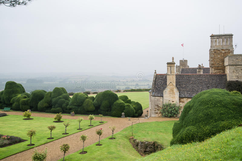 Rockingham kasztel zdjęcie royalty free