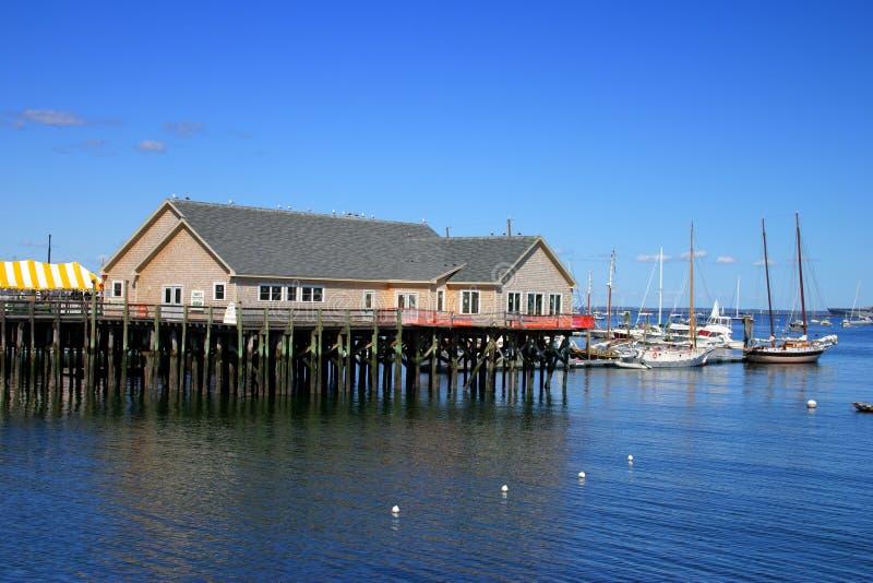 Rockland, Maine lizenzfreie stockbilder