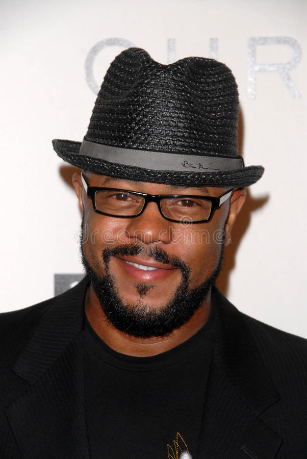 Rockmond Dunbar. At the introduction of the Chris ire Hollywood Glamour Collection, Beverly Hills Hotel, Beverly Hills, CA. 04-07-10 royalty free stock image