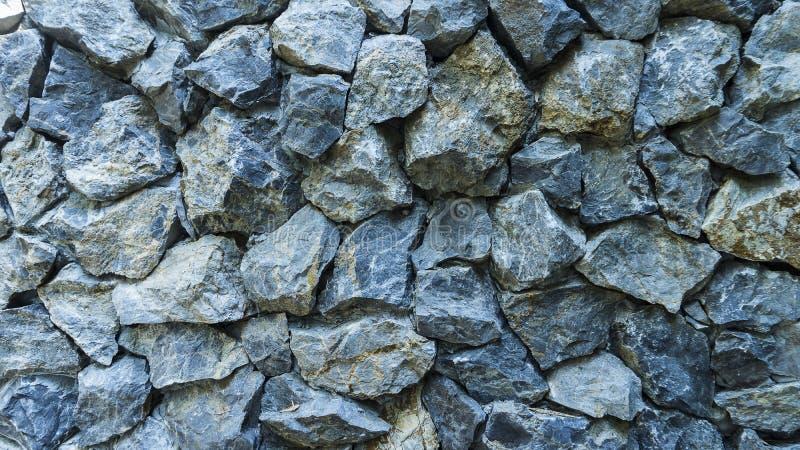 Rockowa ścienna bezszwowa tekstura obraz stock