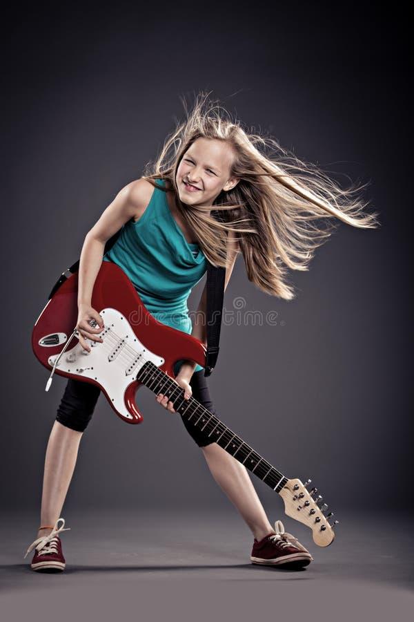 Rockowa dziewczyna zdjęcie royalty free