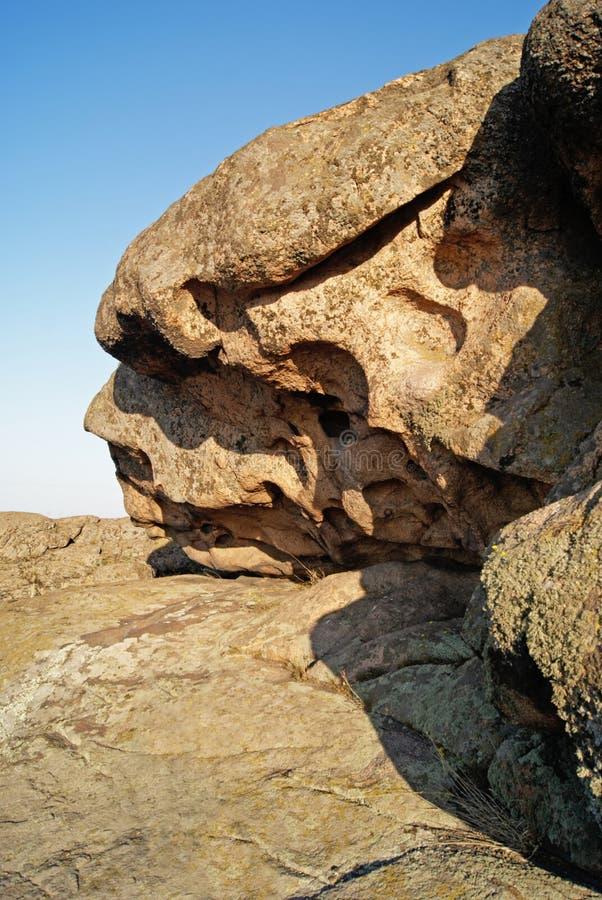 Rockowa erozja wietrzejący formacje geologiczne obrazy stock