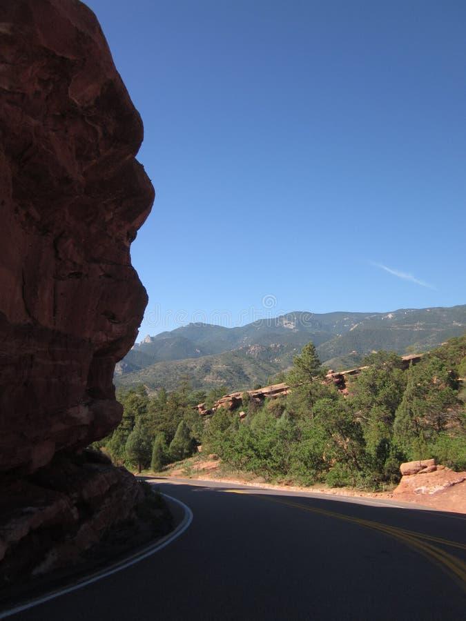 Rockowa formacja, Kolorado zdjęcia stock