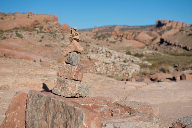 Rockowa formacja w Delikatnym łuku, łuki parki narodowi, Utah, usa zdjęcie royalty free