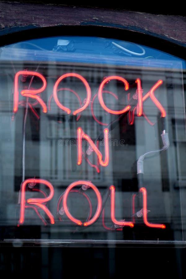 Rockowa N rolka zdjęcie stock