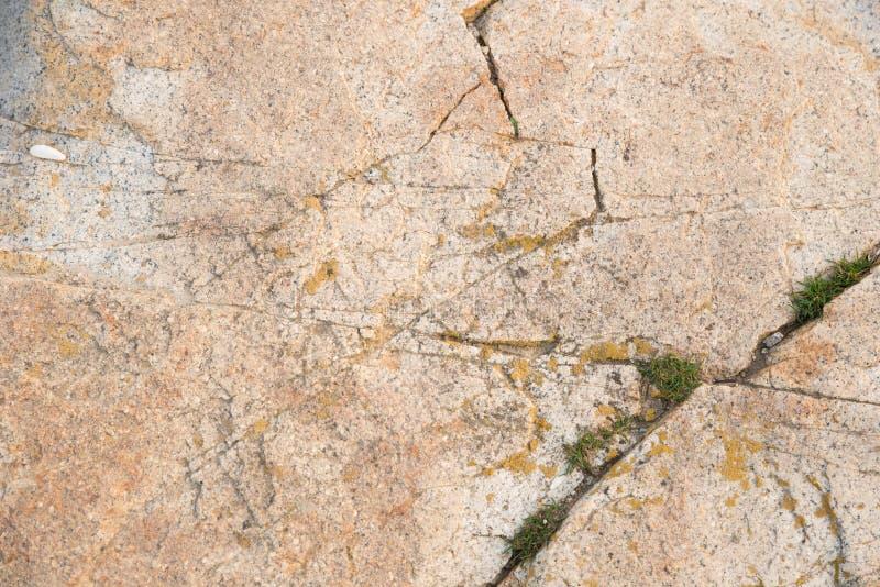 Rockowa powierzchnia z piaskiem obrazy stock