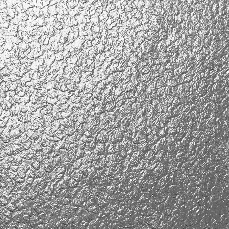 Rockowa Srebna metal tekstura obrazy stock