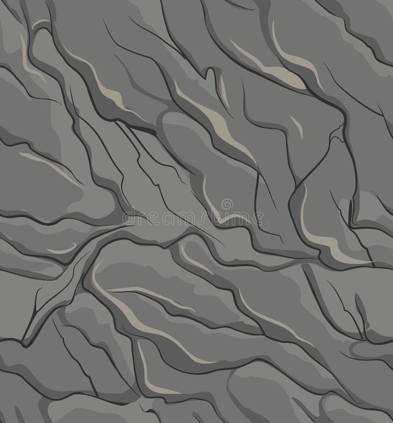 Rockowa tekstura royalty ilustracja