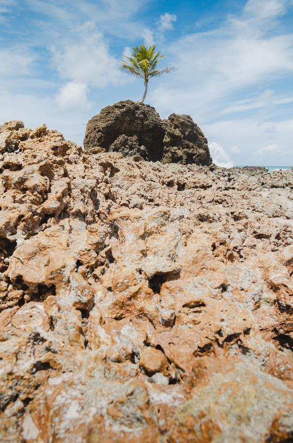 Rockowe formacje Tambaba plaża obraz royalty free