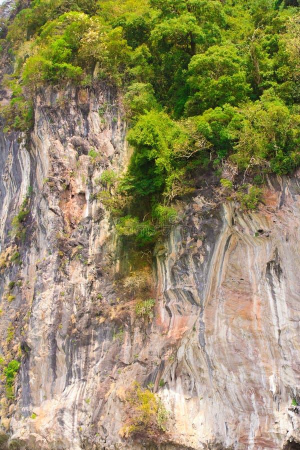 Rockowe ulgi Tajlandzkie obrazy stock