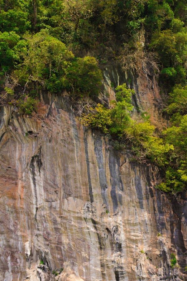 Rockowe ulgi Tajlandzkie obraz royalty free