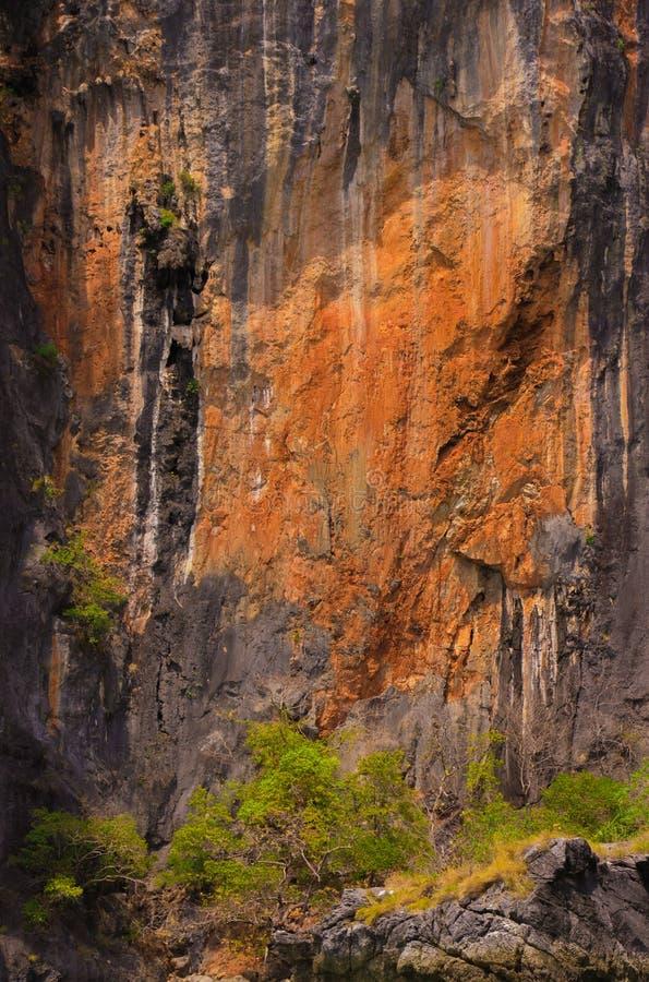 Rockowe ulgi Tajlandzkie obrazy royalty free