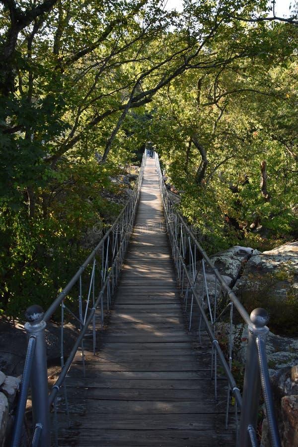 Rockowi miasto ogródy w Chattanooga, Tennessee zdjęcia stock