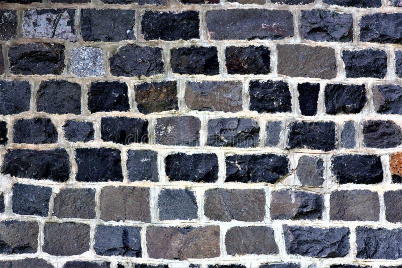 Rockowy ściana wzór fotografia stock