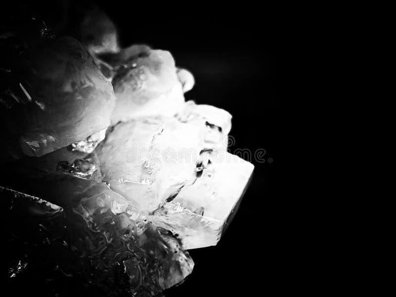 Rockowy cukrowy szczegół tekstury tło obraz royalty free