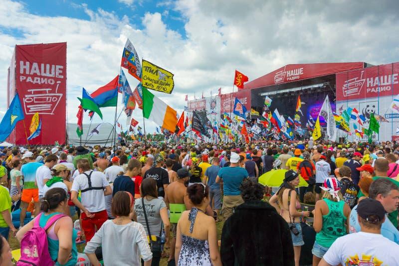 Rockowy festiwal obrazy stock