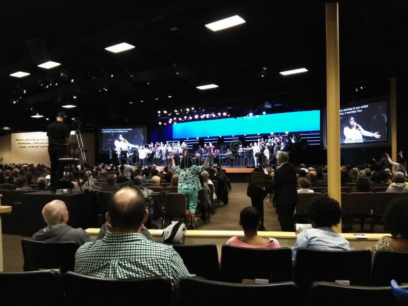 Rockowy kościół w Anaheim obraz royalty free