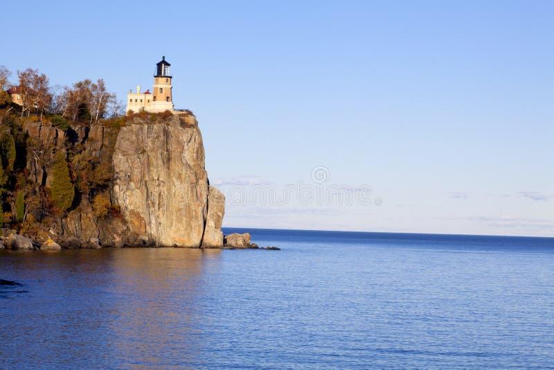 rockowy latarnia morska rozłam obrazy stock