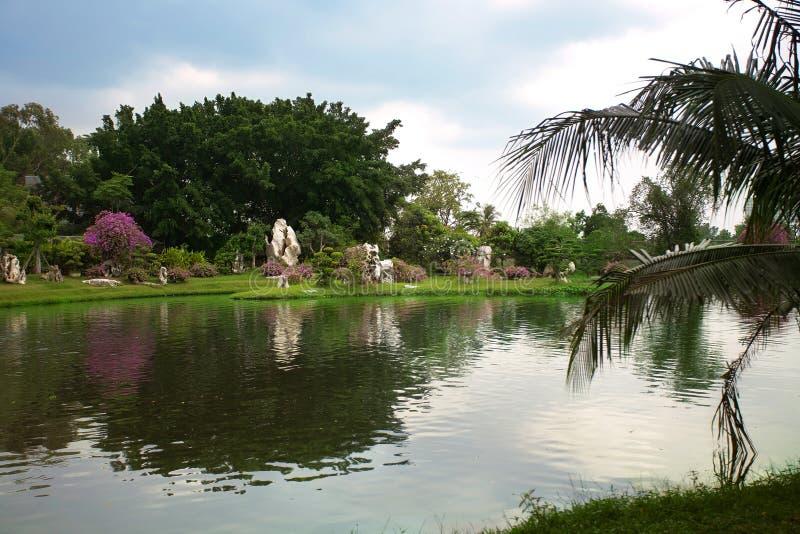 Rockowy ogród obrazy royalty free