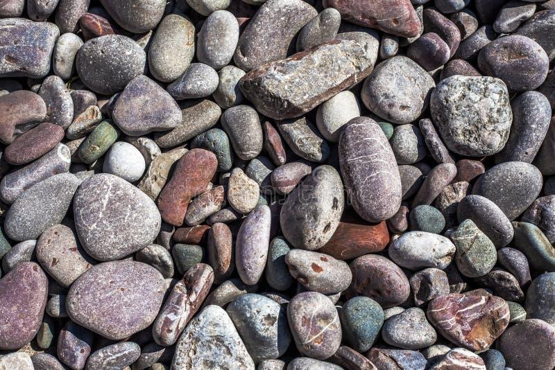Rockowy otoczaka tło obrazy royalty free