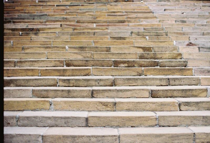 Rockowy schodowy Tajwan obrazy royalty free