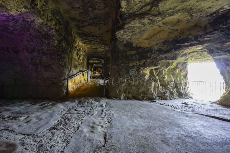Rockowy tunel sławny Bock obrazy royalty free