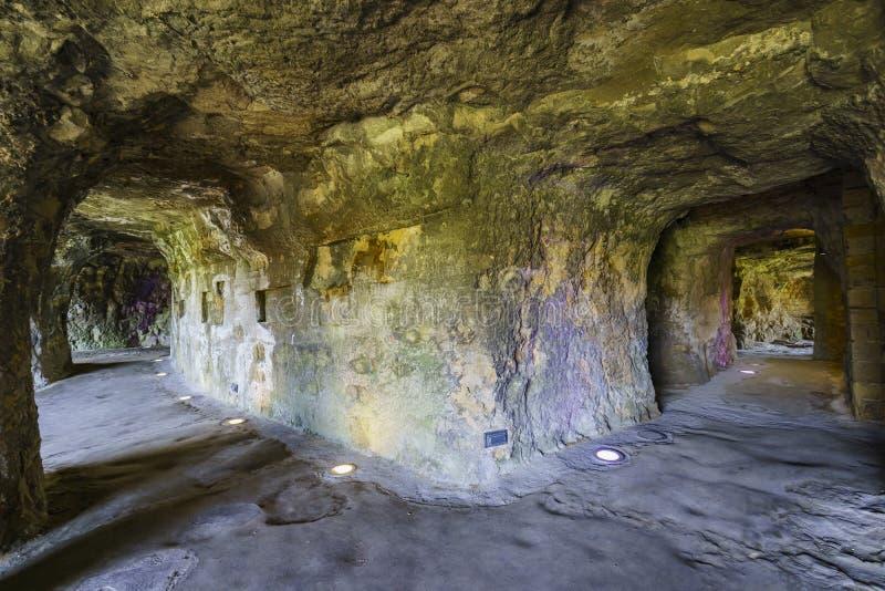 Rockowy tunel sławny Bock zdjęcie stock