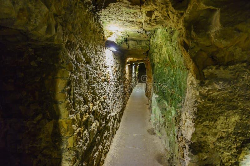 Rockowy tunel sławny Bock zdjęcia stock