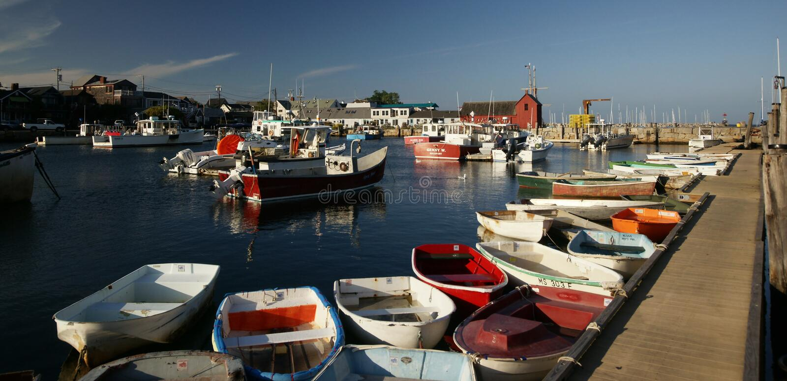 Rockport, MA Editorial Stock Image