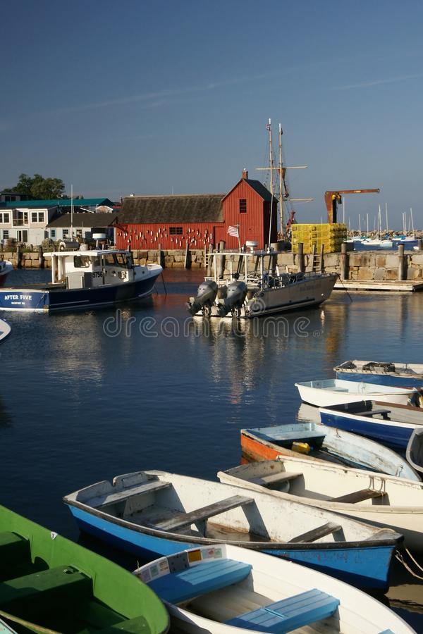 Download Rockport, MA editorial photo. Image of ocean, water, boats - 27269611