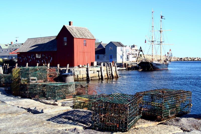 Rockport, Massachusetts lizenzfreies stockfoto