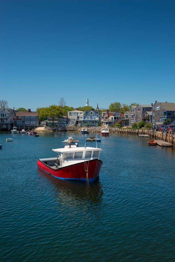 Rockport Massachusetts fotografia stock
