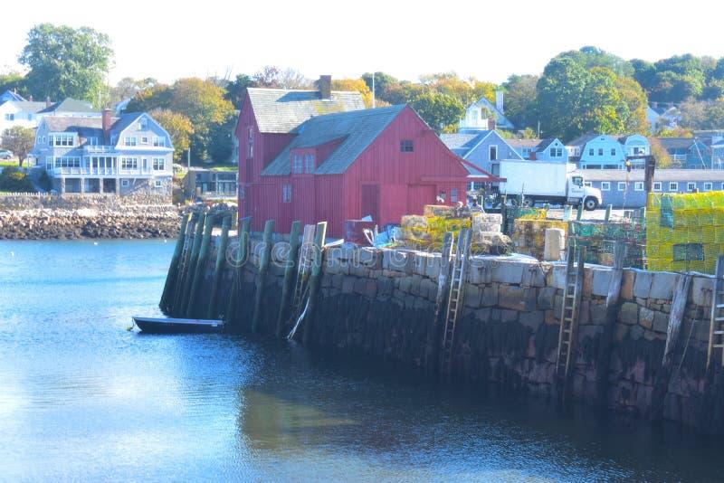Rockport, NO1 de motif du Massachusetts - 1 de 7 photo libre de droits