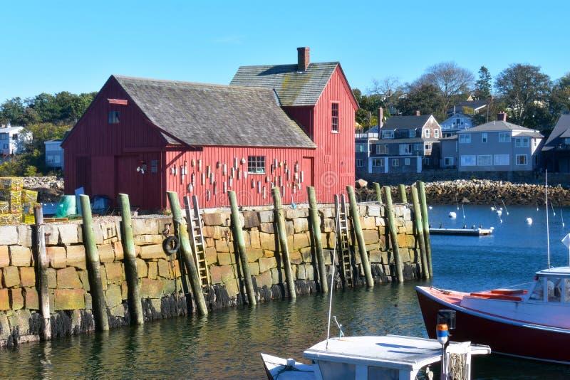 Rockport, NO1 de motif du Massachusetts - 2 de 7 photos libres de droits