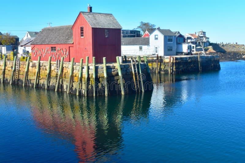 Rockport, NO1 de motif du Massachusetts - 4 de 7 photos libres de droits
